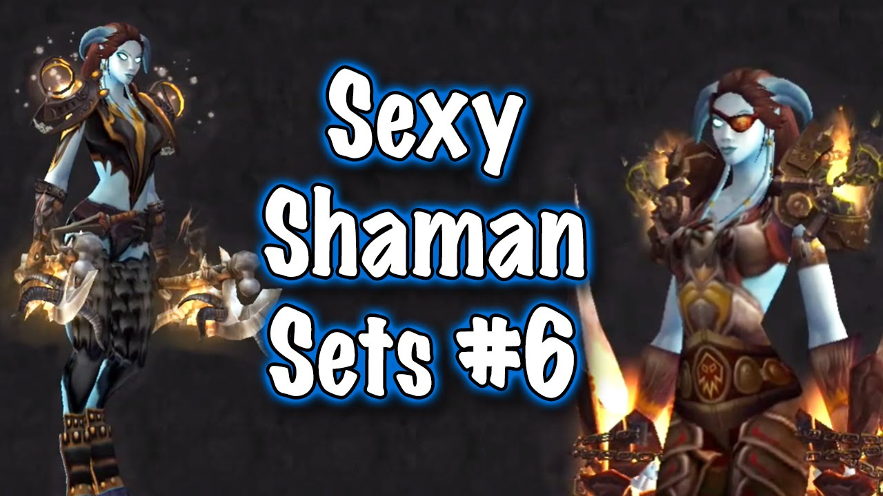 Connu Jessiehealz - 10 Sexy Shaman Transmog Sets #6 (World of Warcraft  LO23