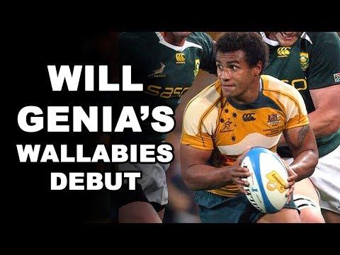 Will Genia's Wallabies Debut