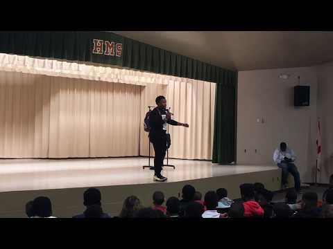 J.REMY INSPIRES @ HONEYSUCKLE MIDDLE SCHOOL