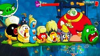 Angry Birds 2 Unlock LEVEL 2261–2266 BOSS LEVEL ZETA(NEW HERO LEONARD) – Pig City Vietham