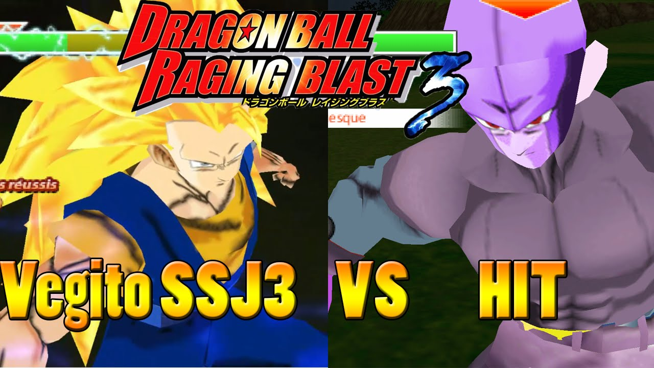 DragonBall Z Tenkaichi Tag Team Mods RagingBlast 3 Vegito SSJ3 vs ...