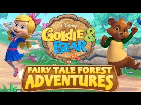 Goldie and Bear - Fairy Tale Forest Adventures Game - Disney Junior Games - Episode 1
