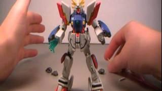 G Gundam MSIA - Shining Gundam Action Figure Review
