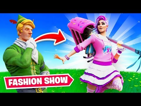 I Hosted A Fortnite Fashion Contest (Winner = VBucks)