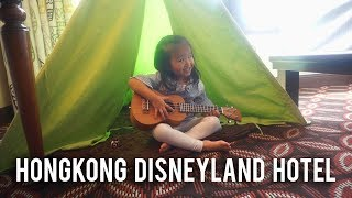 The Onsu Family - Thalia Bikin Tenda di Hong Kong Disneyland Hotel