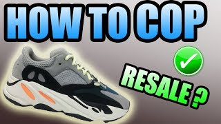 How To Get The YEEZY 700 WAVE RUNNER ! | Yeezy 700 Wave Runner Restock !