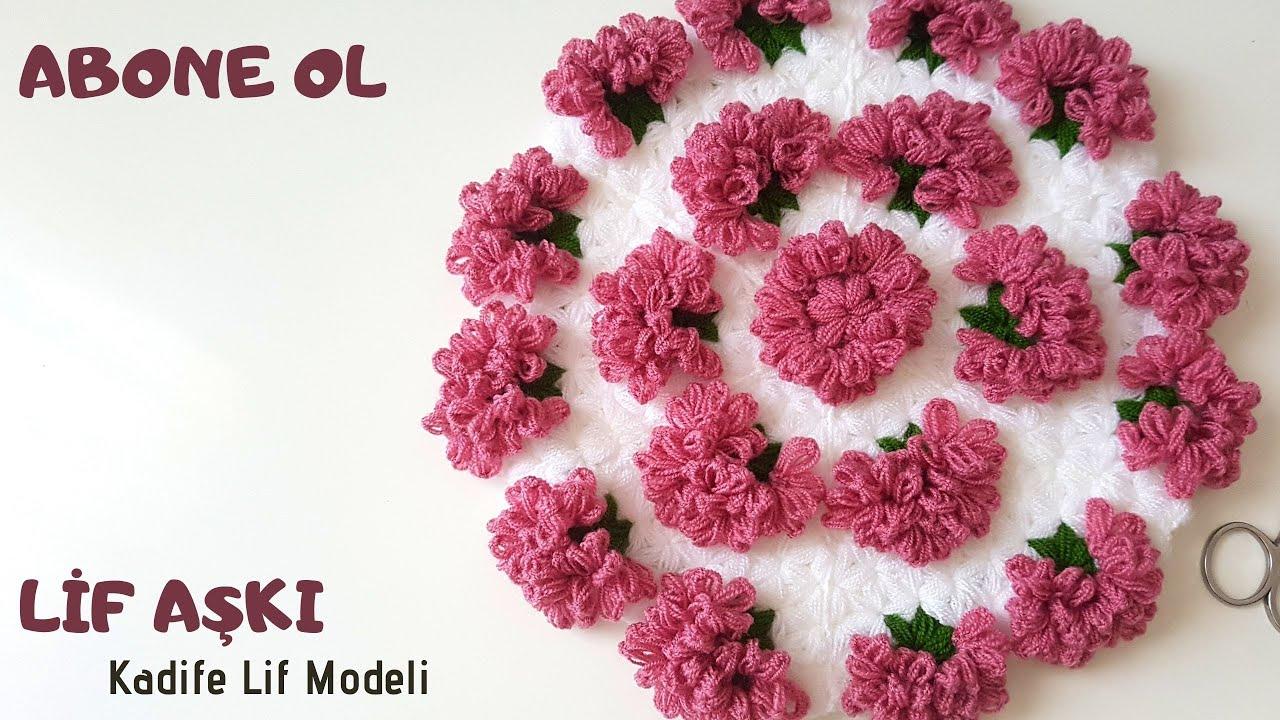 KRİZANTEM ÇİÇEĞİ LİF MODELİ (Tasarım lif_defterim) - YENİ LİF MODELLERİ