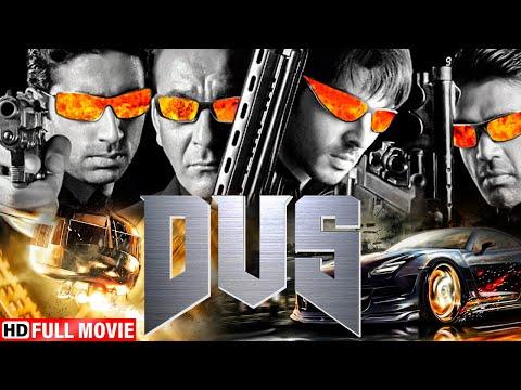 DUS HINDI MOVIE (HD) - SANJAY DUTT - SUNIL SHETTY - ABHISHEK BACHCHAN - ACTION HINDI MOVIE