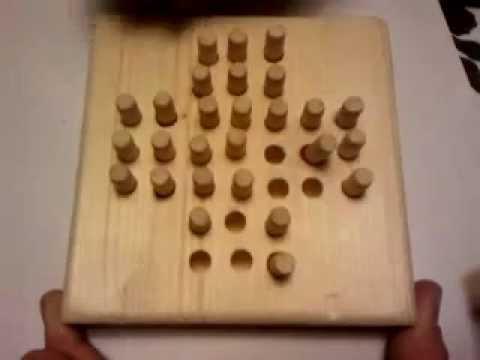 Solitaire Brettspiel Lösung