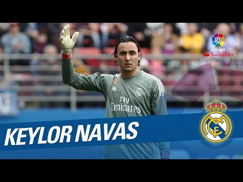 Keylor Navas Best Saves LaLiga Santander 2017/2018