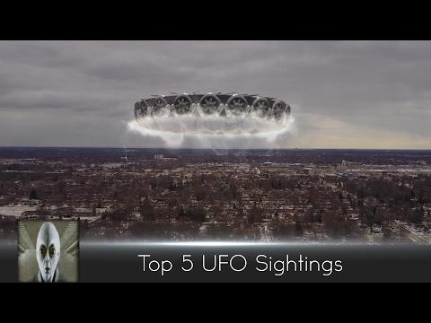 Top 5 UFO Sightings February 10th 2017