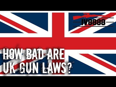How Bad Are UK Gun Laws?