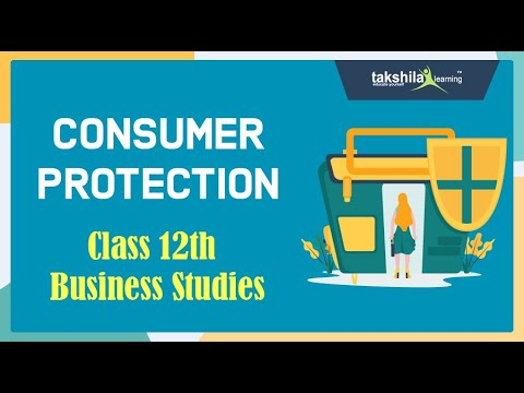 CBSE Class12 Business Studies  Consumer Protection by Shweta Anand