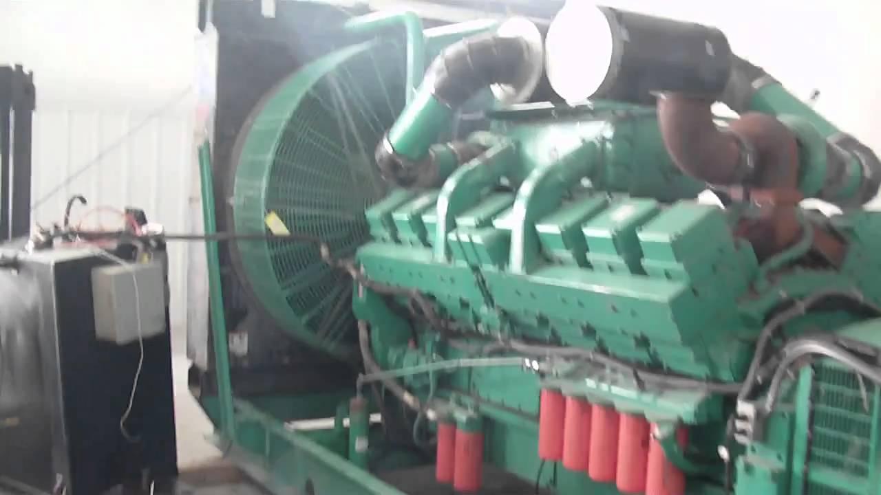 Cummins Kta50-g2 1100dflb Generator Set