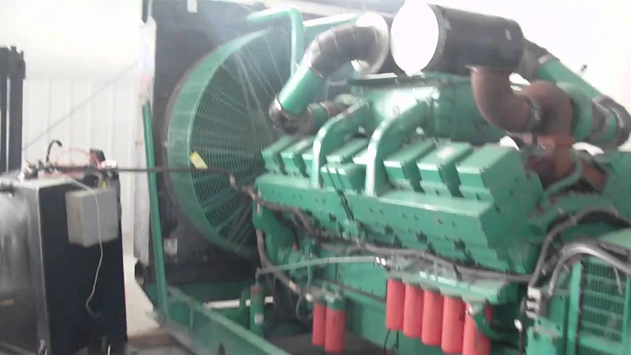 cummins kta50 g2 1100dflb generator set youtube rh youtube com