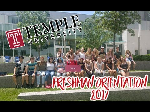 Temple University Orientation 2017