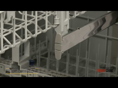 Front Dish Rack Stop Clip - Whirlpool Dishwasher Repair #WDF520PADM7