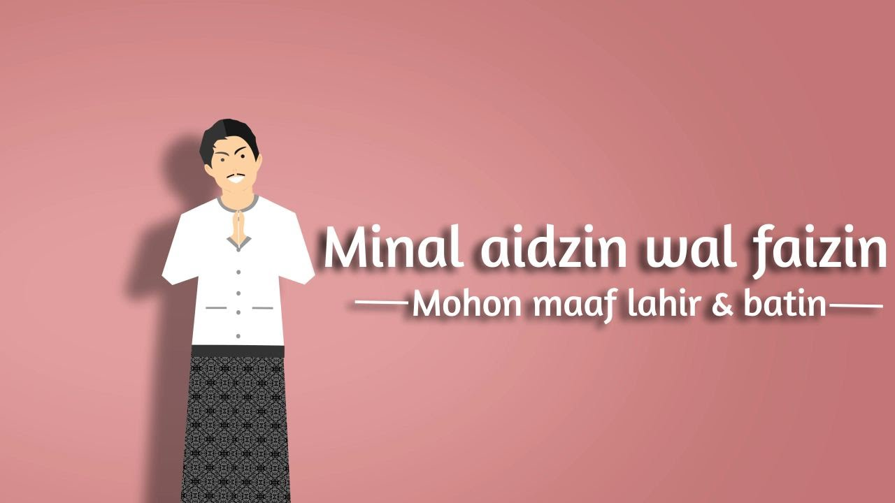 Animasi Ucapan Selamat Hari Raya Idul Fitri 1437 H YouTube
