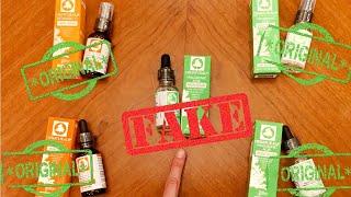 سيروم فيتامين سي وهيالورونيك اسيد اوز ناتشورال الاصلي والتقليد Oz Naturals Serum Real Vs Fake Youtube