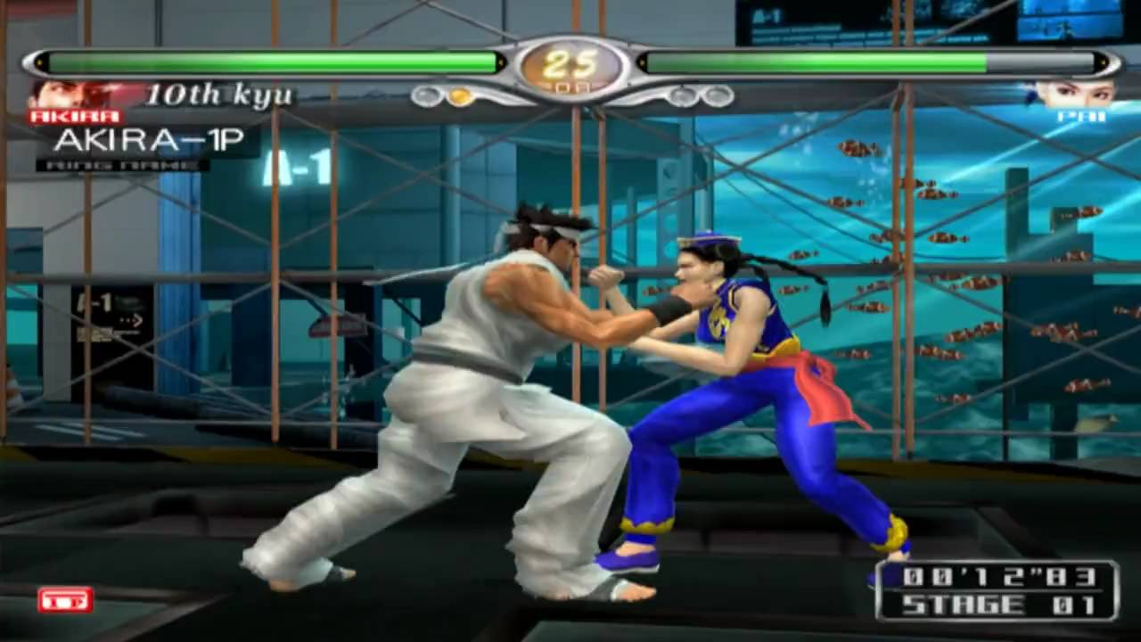 Virtua Fighter 4 Evolution On Pcsx2 Playstation 2