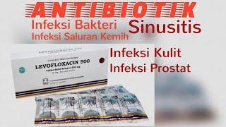 Obat Infeksi Saluran Kemih, Sinusitis, Kulit Dan Prostat   Antibiotik Levofloxacin 500