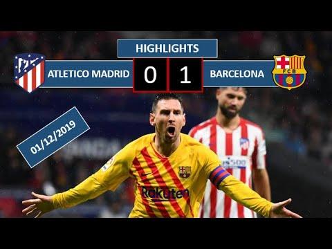Atletico Madrid vs Barcelona All Gоals & Extеndеd Hіghlіghts || 0-1 || 1-12-2019 || La-Liga ||