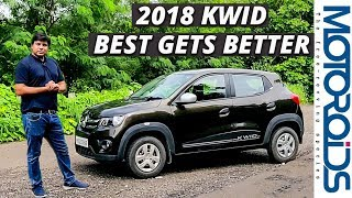 New 2018 Renault Kwid Review | More Features, More Value | Motoroids