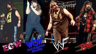 15 Wrestlers Who Wrestled in WWE, WCW, ECW & TNA