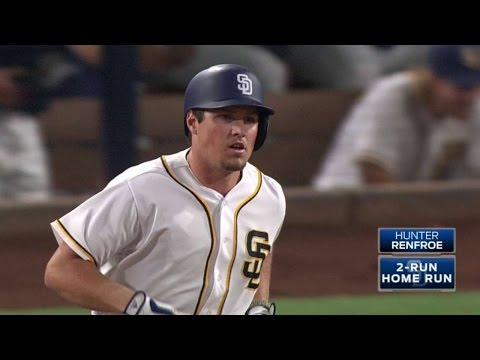 LAD@SD: Renfroe crushes a long two-run...