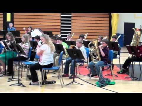 hayden with tomahawk school band
