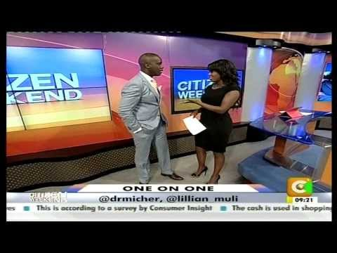 TPF's Dr. Mich Co-Hosts With Lillian Muli on Citizen Weekend