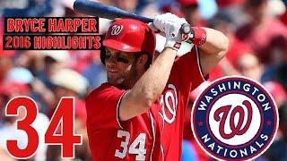 Bryce Harper | 2016 Nationals Highlights HD