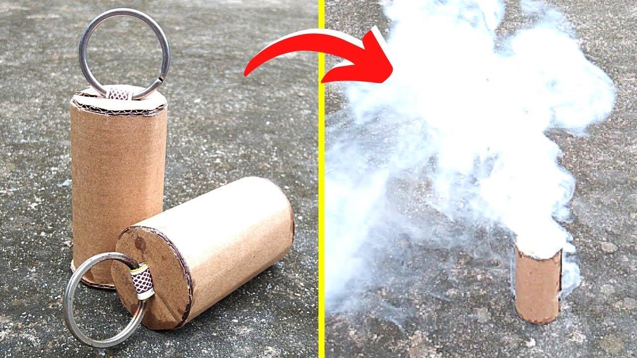 Download How To Make A Smoke Bomb | Easy And Simple Smoke Bomb | DIY