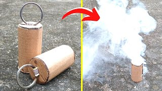 How To Make A Smoke Bomb | Easy And Simple Smoke Bomb | DIY