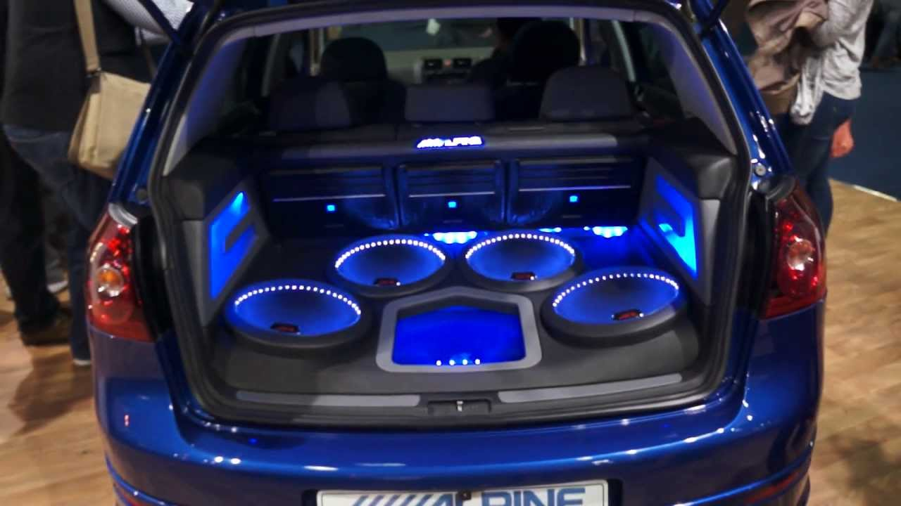 Golf R32 With Full Alpine Sound System Youtube