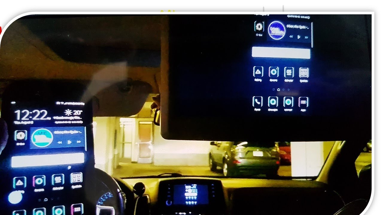 how to screen mirror your smartphone to any car with media stereo