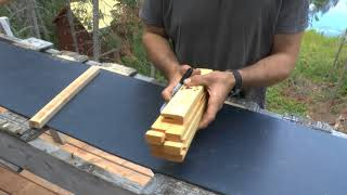 How to Make an HDPE Freight Toboggan Pt 1 of 2