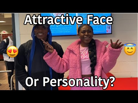 WHICH DO GUYS/GIRLS PREFER: ATTRACTIVE FACE 😍 OR PERSONALITY 😇 | PUBLIC INTERVIEW | A TheJawn