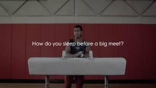 sleep like olympic gymnastics hopeful josh dixon