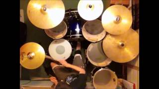 Wasted Years - Iron Maiden drum cover