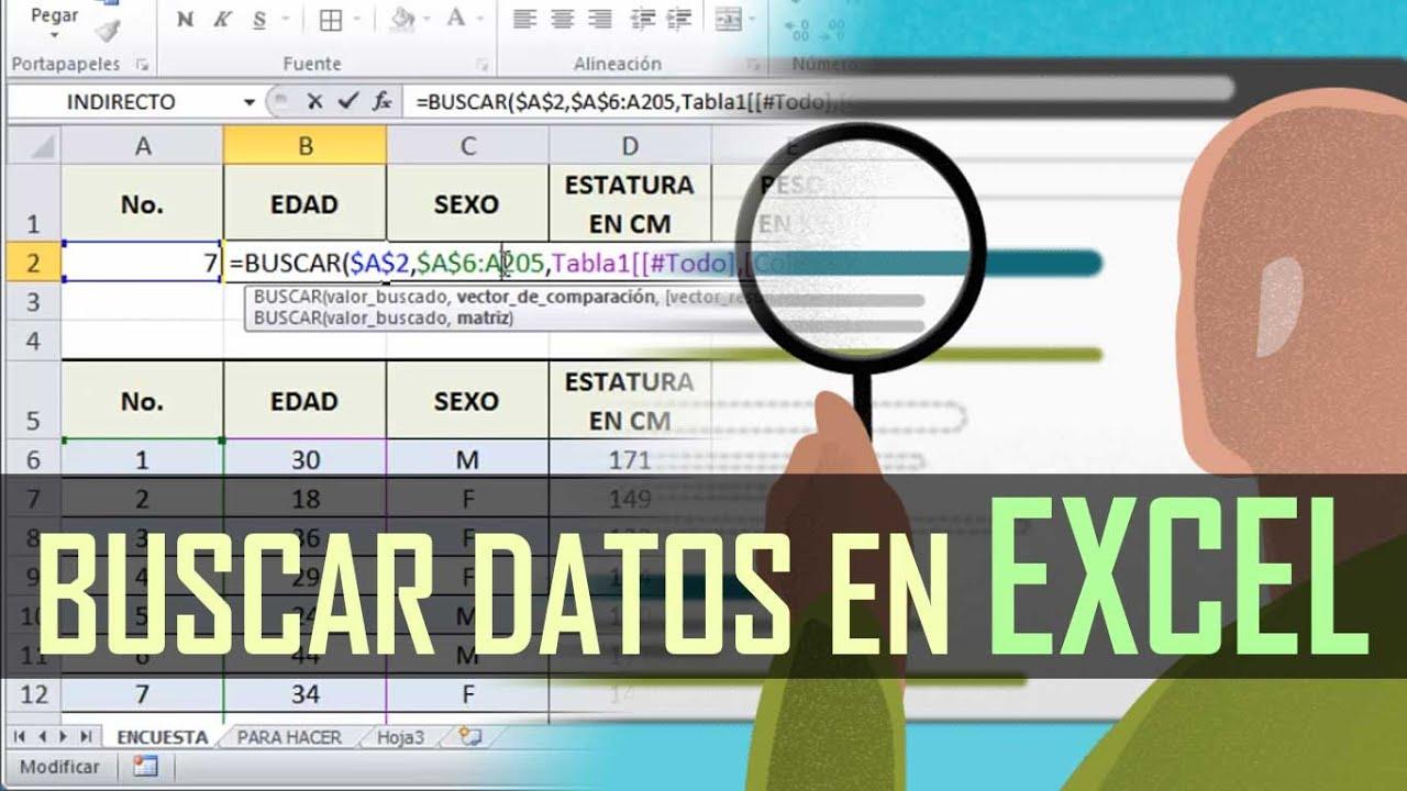 Tutorial de excel funci n buscar referencias absolutas for Como hacer una nomina en excel con formulas