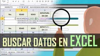 Tutorial de Excel - Función Buscar - Referencias Absolutas - Asesor Juan Manuel