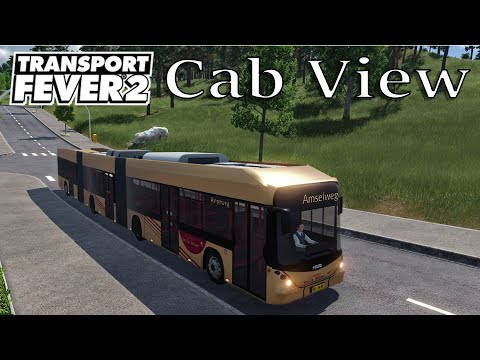 Transport Fever 2 - Cab View / First Person View / EU 22 / Hess SwissHybrid LighTram |
