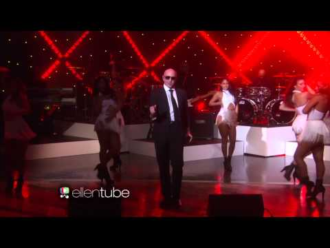 Pitbull: Fireball Live on Ellen Show