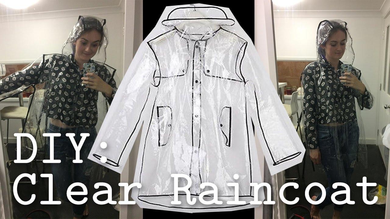 DIY: Clear PVC Raincoat