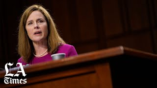 Listen to how Amy Coney Barrett sidesteps questions on abortion ruling