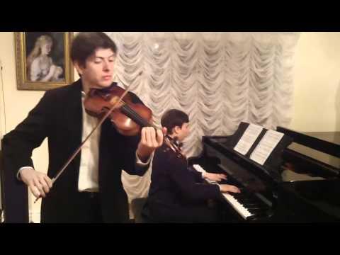 Khachaturian - Nocturne from Masquerade Suite (Dima Fisch,violin)