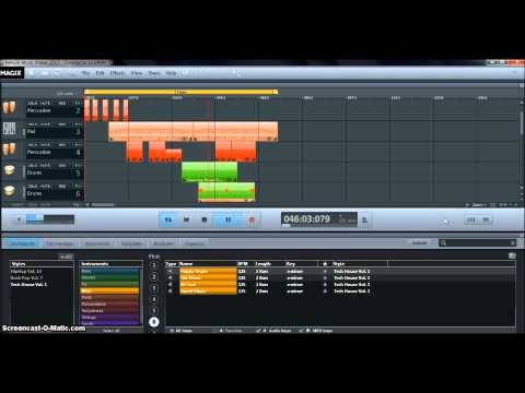 DreamyTrance - Magix Music Maker 2013