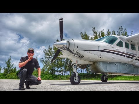 TOP SECRET Mission to the BAHAMAS flying the CESSNA CARAVAN!