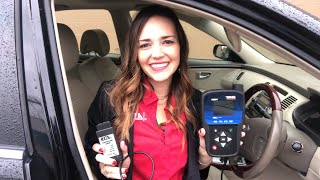 How to perform an OBD relearn to reset your TPMS system using the T46000 powered by ATEQ